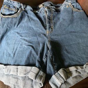Lane Bryant size 24 denim shorts